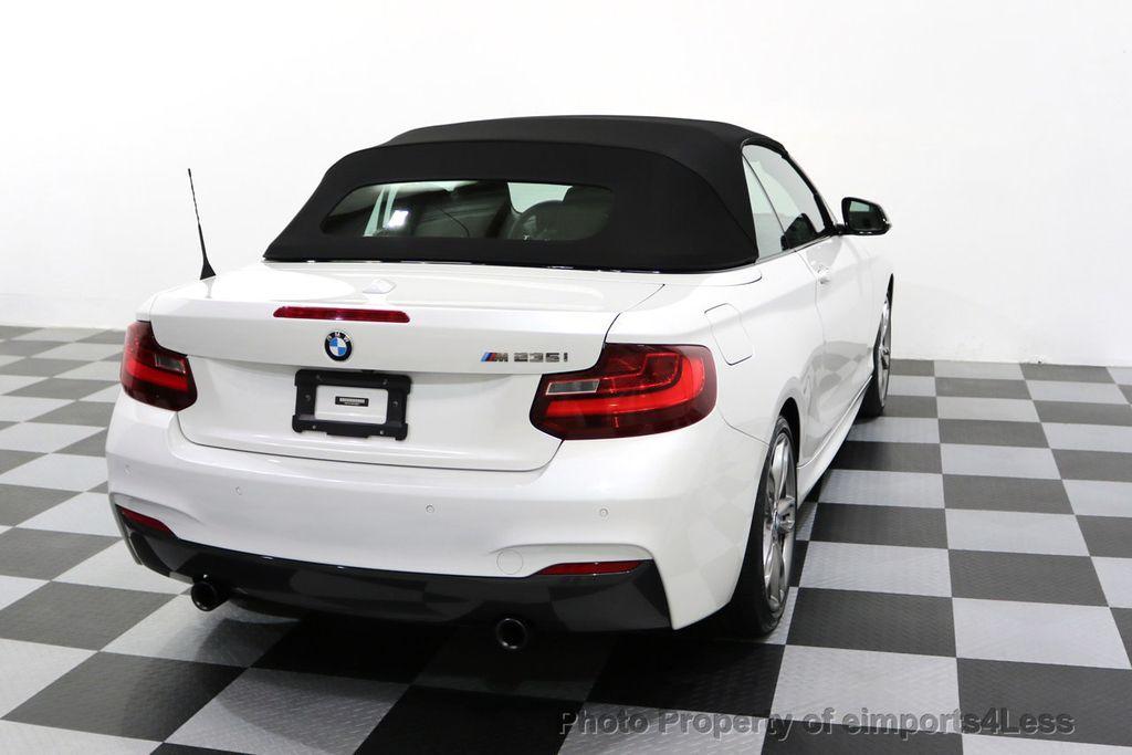 2015 BMW 2 Series CERTIFIED M235i PREMIUM TECH ASSIST CAMERA NAVI - 17696955 - 51