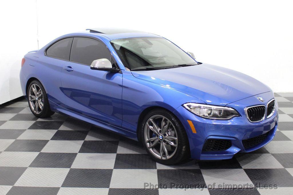 2015 BMW 2 Series CERTIFIED M235i PREMIUM XENON COLD TECH DRIVER ASSIST NAV - 18319521 - 15