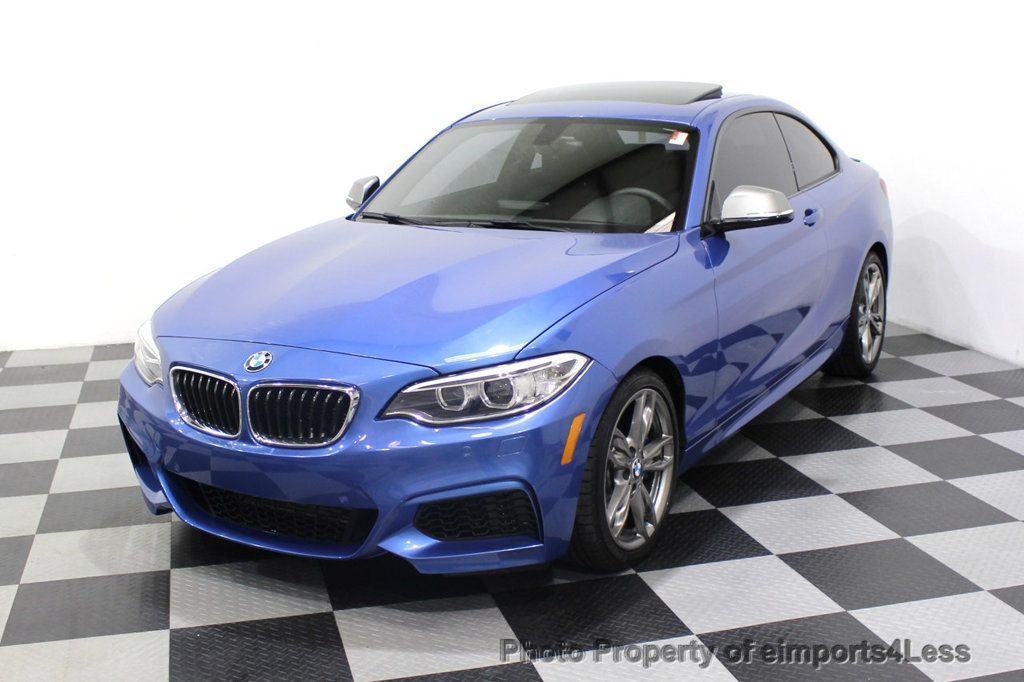 2015 BMW 2 Series CERTIFIED M235i PREMIUM XENON COLD TECH DRIVER ASSIST NAV - 18319521 - 44