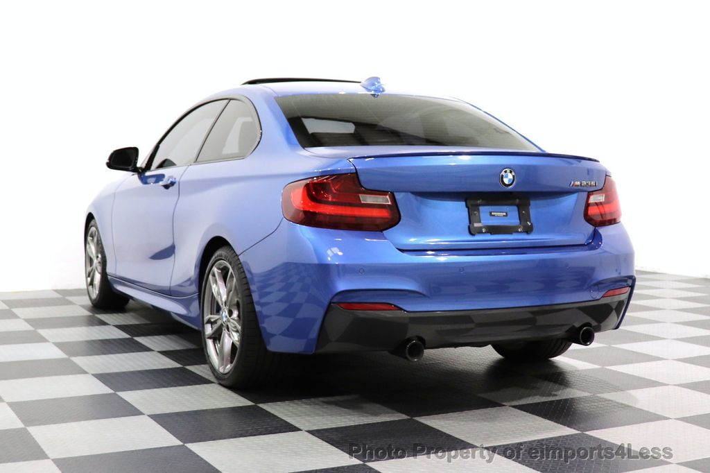 2015 BMW 2 Series CERTIFIED M235i PREMIUM XENON COLD TECH DRIVER ASSIST NAV - 18319521 - 46