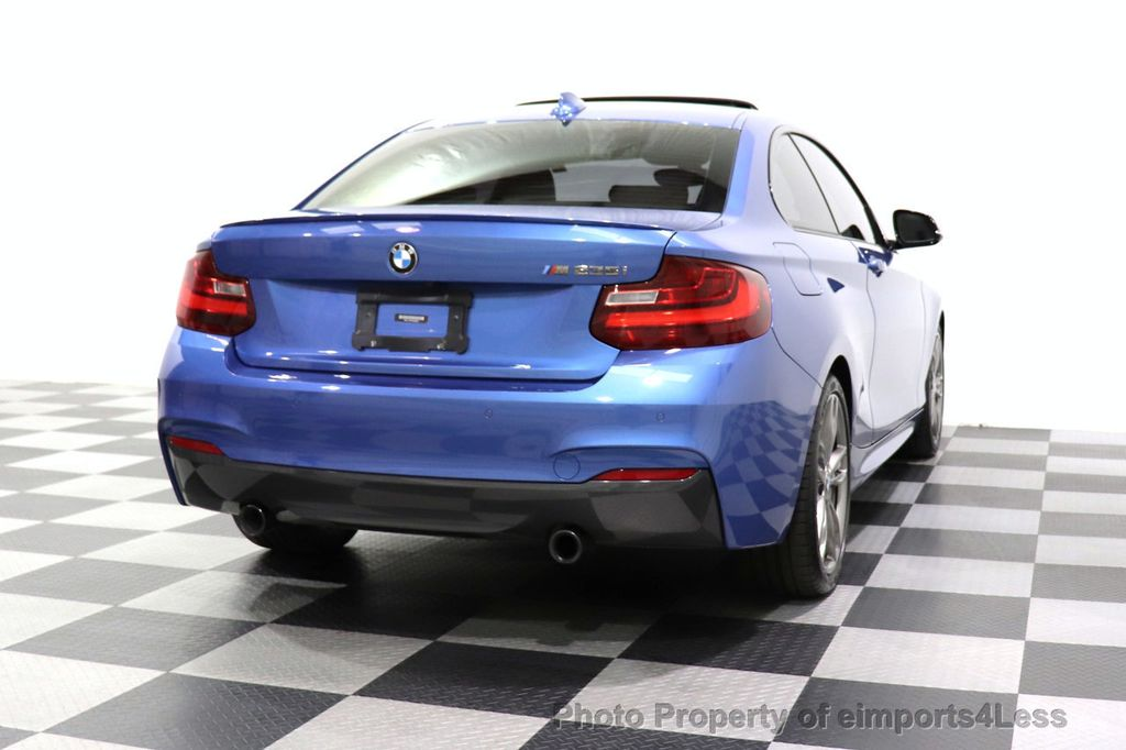2015 BMW 2 Series CERTIFIED M235i PREMIUM XENON COLD TECH DRIVER ASSIST NAV - 18319521 - 54