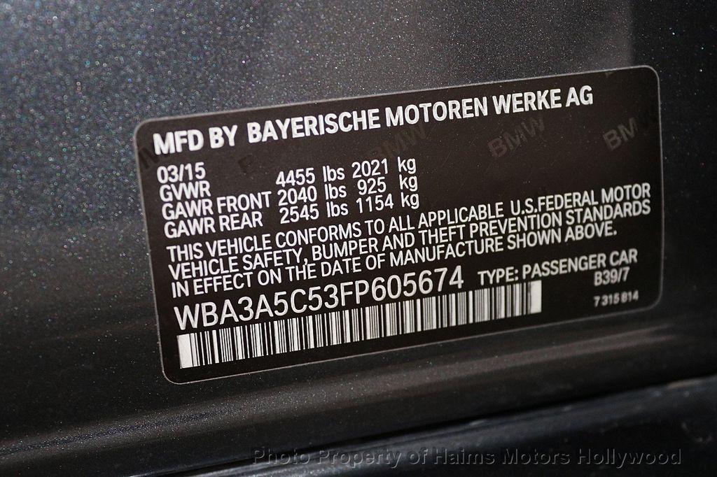 2015 BMW 3 Series 328i - 17487443 - 33