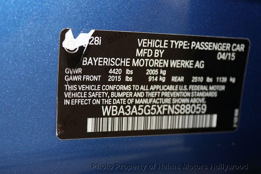 2015 BMW 3 Series 328i - 17823138 - 35