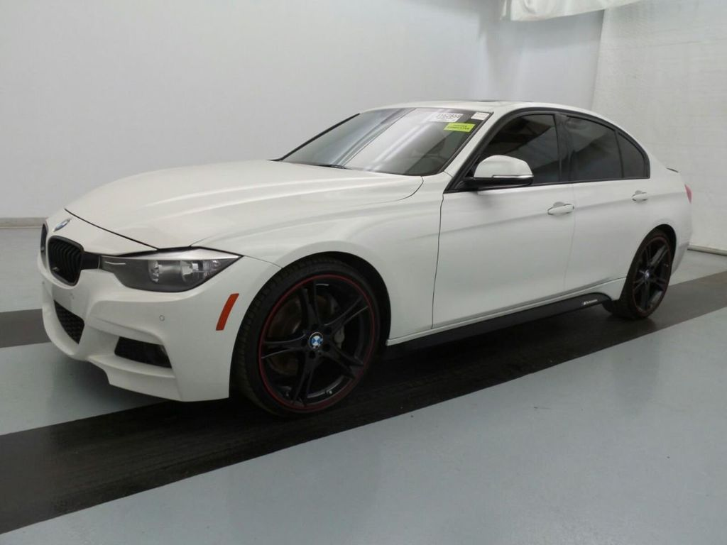 2015 Bmw 328i White With Black Rims Thxsiempre