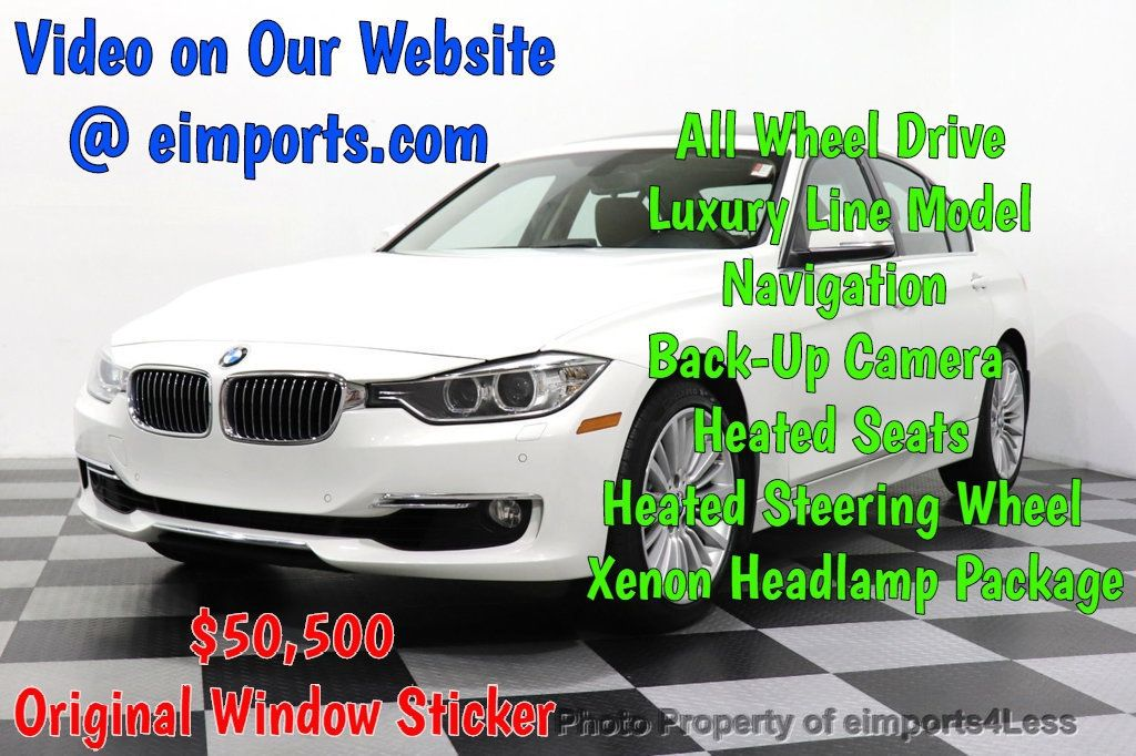 2015 BMW 3 Series 328i xDrive Luxury Line AWD XENONS CAM NAVIGATION - 18398374 - 0