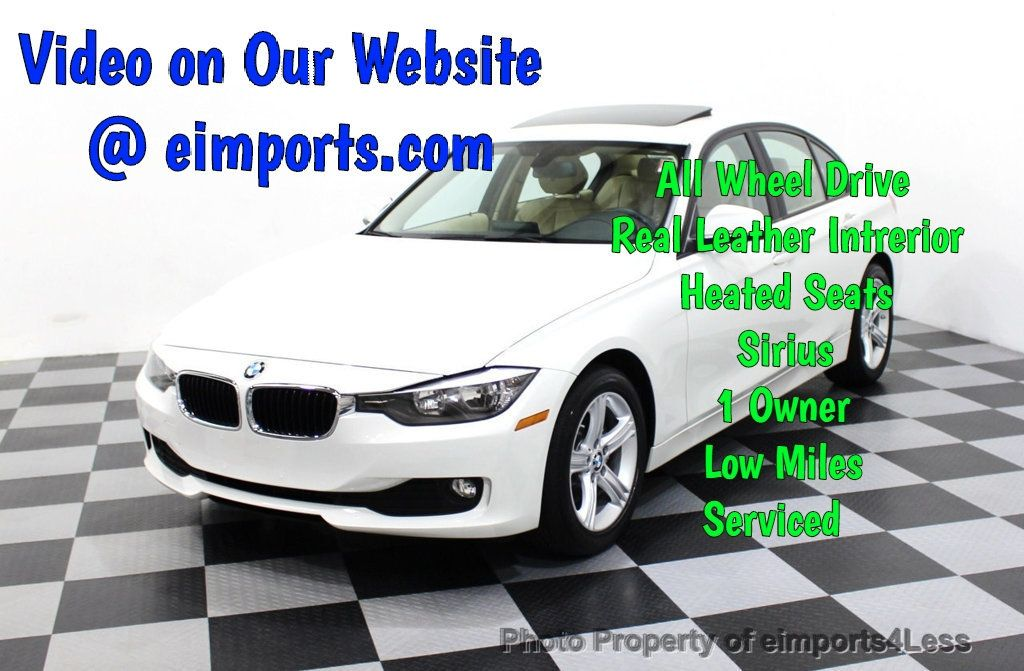 2015 BMW 3 Series CERTIFIED 320i xDRIVE AWD PREMIUM PACKAGE NAVIGATION - 18006912 - 0