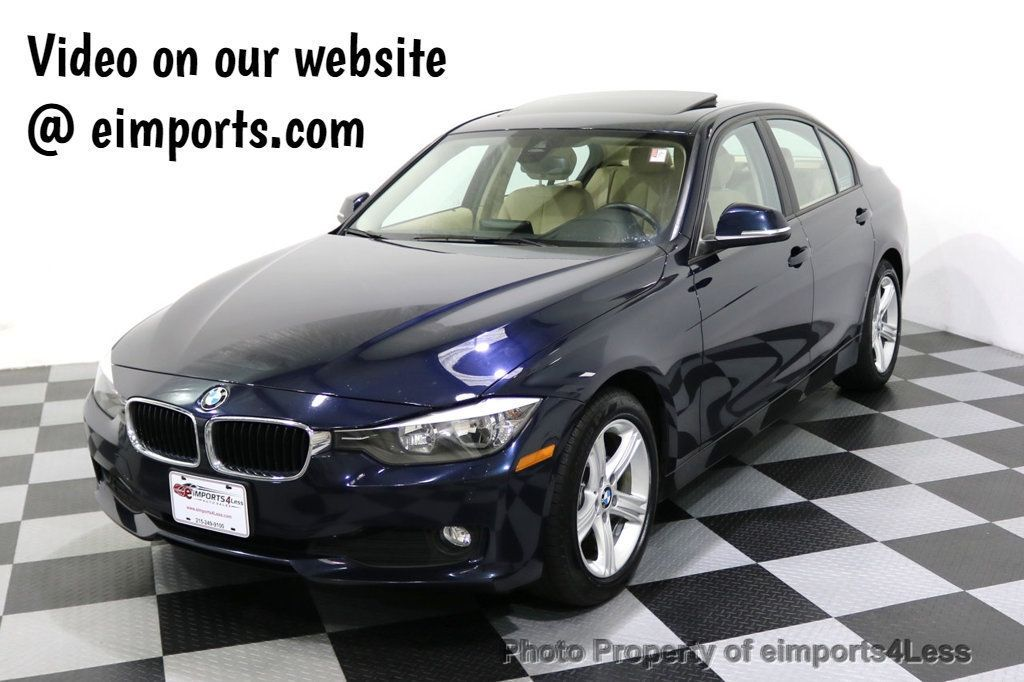 2015 BMW 3 Series CERTIFIED 328d xDRIVE Diesel AWD Blind Spot CAMERA NAV - 18006907 - 0