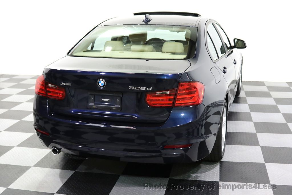 2015 BMW 3 Series CERTIFIED 328d xDRIVE Diesel AWD Blind Spot CAMERA NAV - 18006907 - 33