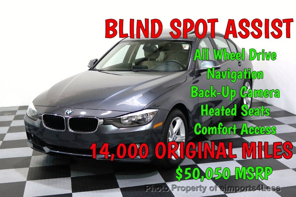 2015 BMW 3 Series CERTIFIED 328i xDRIVE AWD Blind Spot Assist CAMERA NAVI - 17370131 - 0