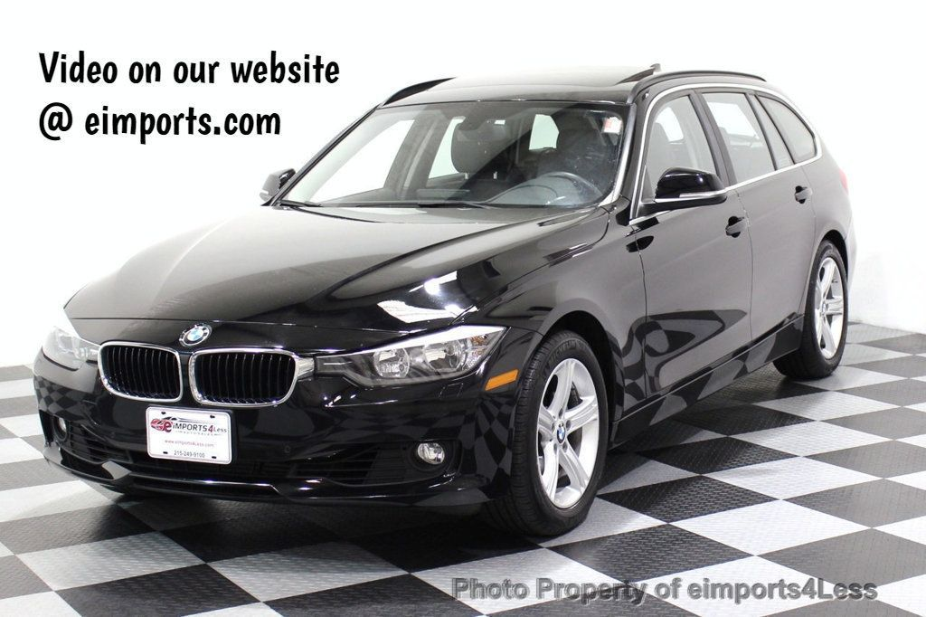 2015 BMW 3 Series CERTIFIED 328i xDRIVE AWD CAMERA NAVIGATION - 17517275 - 0