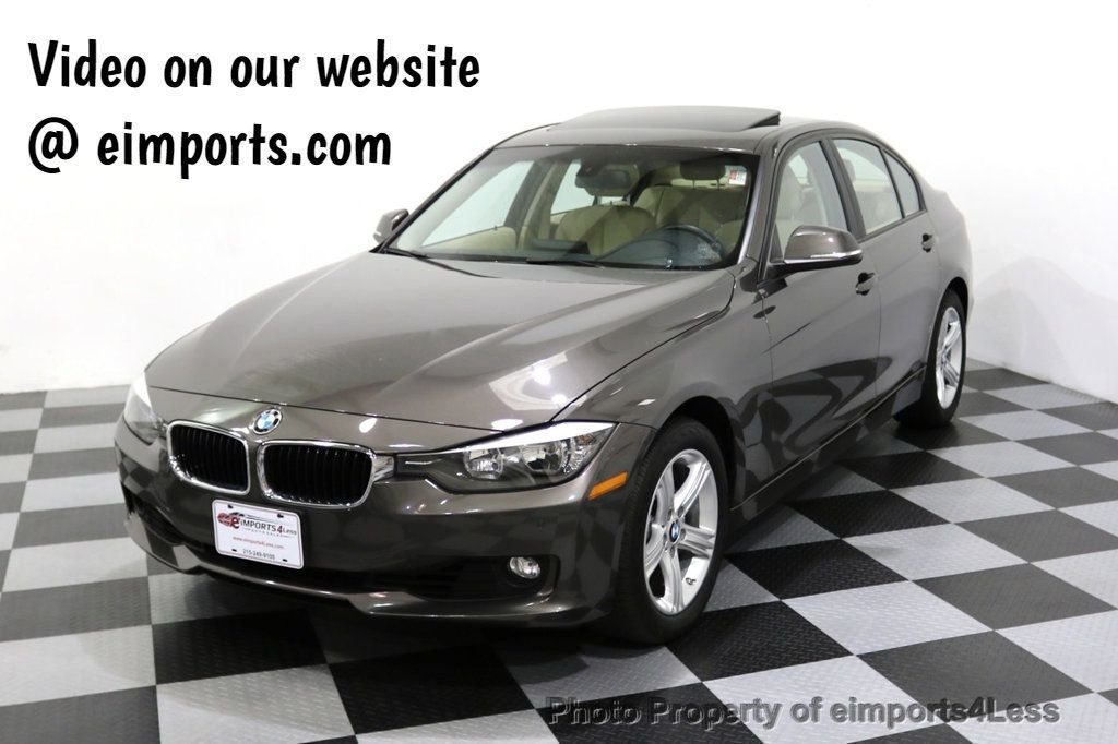 2015 BMW 3 Series CERTIFIED 328i xDRIVE AWD CAMERA SIRIUS NAVI - 17981809 - 0