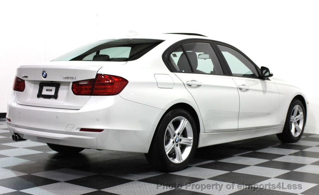 2015 used bmw 3 series certified 328i xdrive awd sedan driving