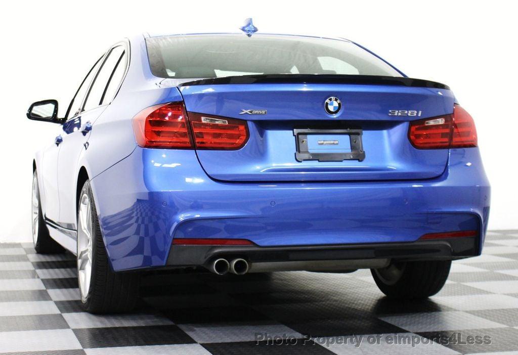 2015 BMW 3 Series CERTIFIED 328i XDRIVE M SPORT AWD SEDAN NAVIGATION