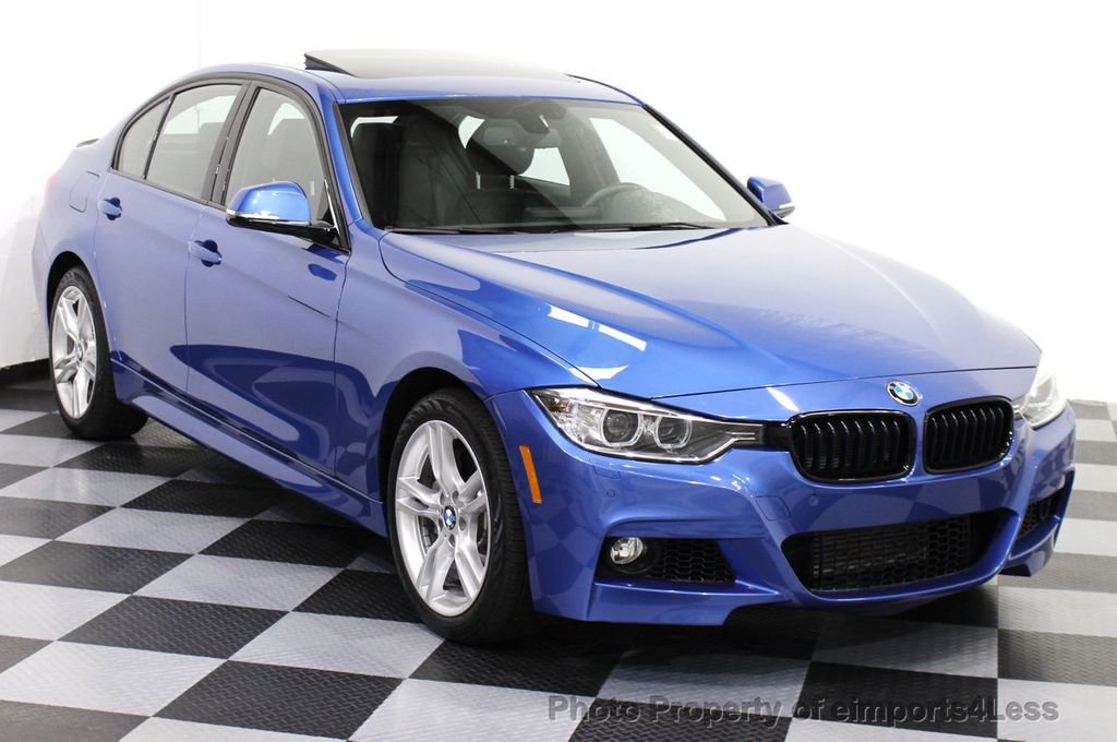 2015 BMW 3 Series CERTIFIED 328i XDRIVE M SPORT AWD SEDAN NAVIGATION