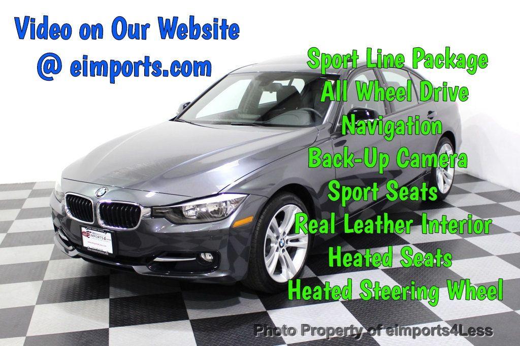 2015 BMW 3 Series CERTIFIED 328i xDRIVE Sport/Premium CAMERA NAVI - 18196759 - 0