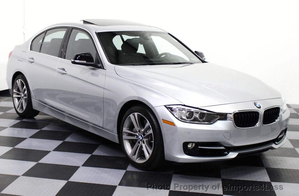 2015 BMW 3 Series CERTIFIED 335i SPORT PACKAGE SEDAN NAVIGATION