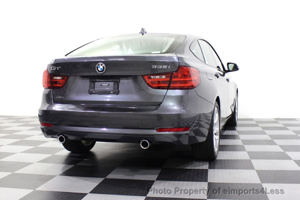 2015 BMW 3 Series Gran Turismo CERTIFIED 335i xDrive GT Gran Turismo AWD HUD CAMERA NAV  - 18051521 - 54