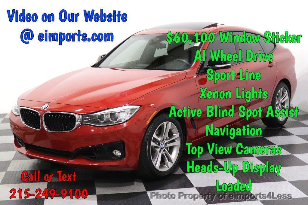 2015 BMW 3 Series Gran Turismo CERTIFIED 335i xDrive GT Sport Package BLIND SPOT CAMERA NAV - 18467696 - 0