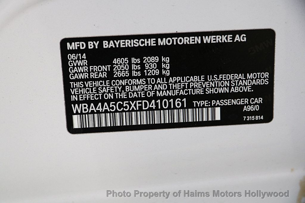 2015 BMW 4 Series 428i Gran Coupe 4dr - 16751615 - 34