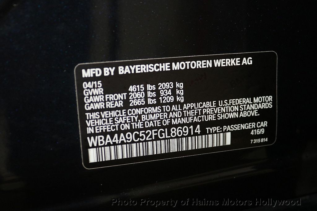 2015 BMW 4 Series 428i Gran Coupe 4dr - 18134443 - 37