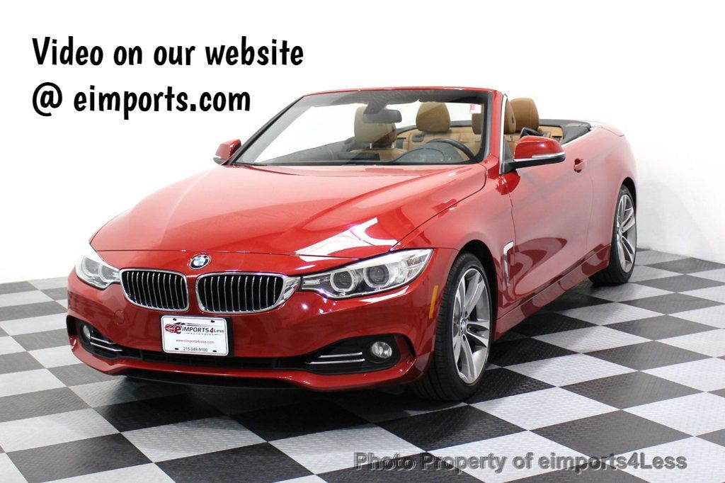2015 BMW 4 Series CERTIFIED 428i Luxury Line NAVIGATION - 17537714 - 0
