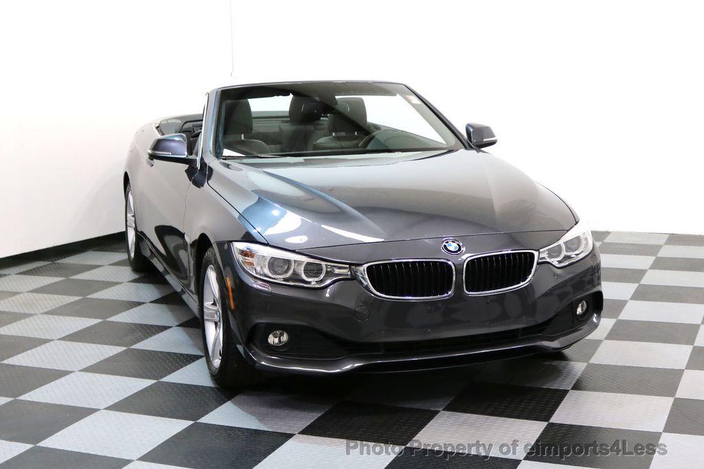 2015 BMW 4 Series CERTIFIED 428i xDRIVE AWD CAMERA NAVIGATION - 17570261 - 29