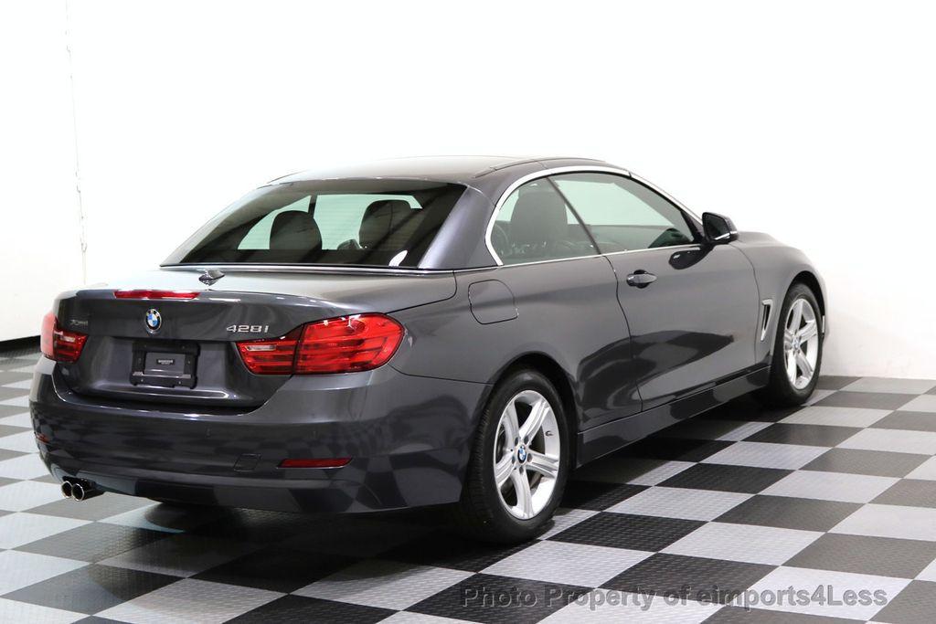 2015 BMW 4 Series CERTIFIED 428i xDRIVE AWD CAMERA NAVIGATION - 17570261 - 31