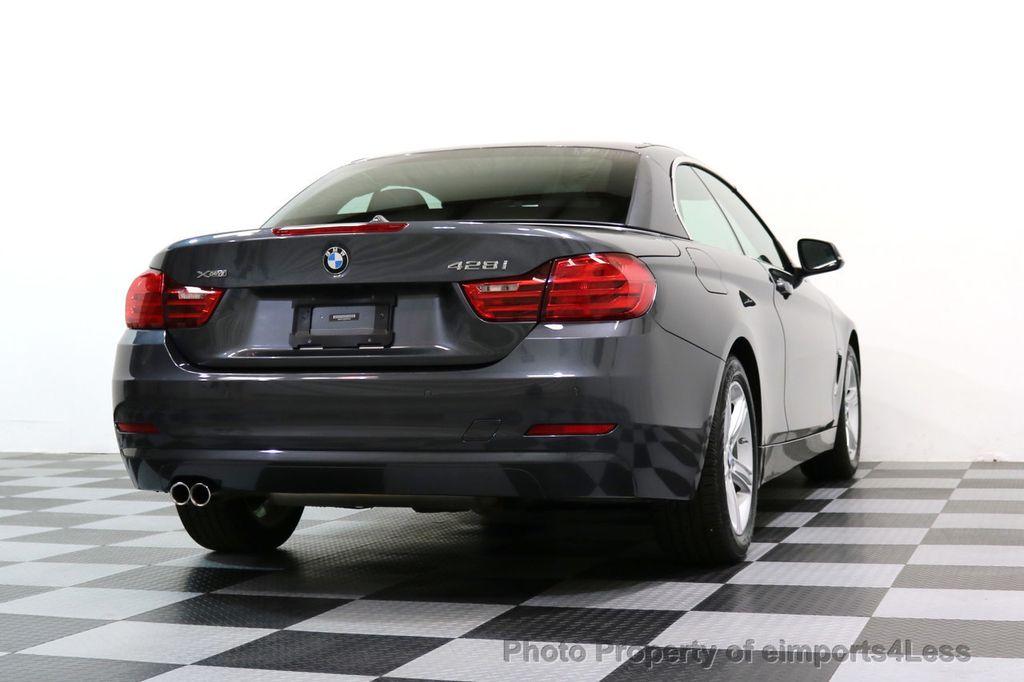 2015 BMW 4 Series CERTIFIED 428i xDRIVE AWD CAMERA NAVIGATION - 17570261 - 43