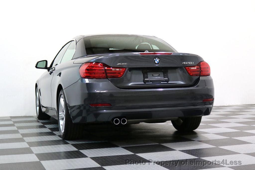 2015 BMW 4 Series CERTIFIED 428i xDRIVE AWD CAMERA NAVIGATION - 17570261 - 45