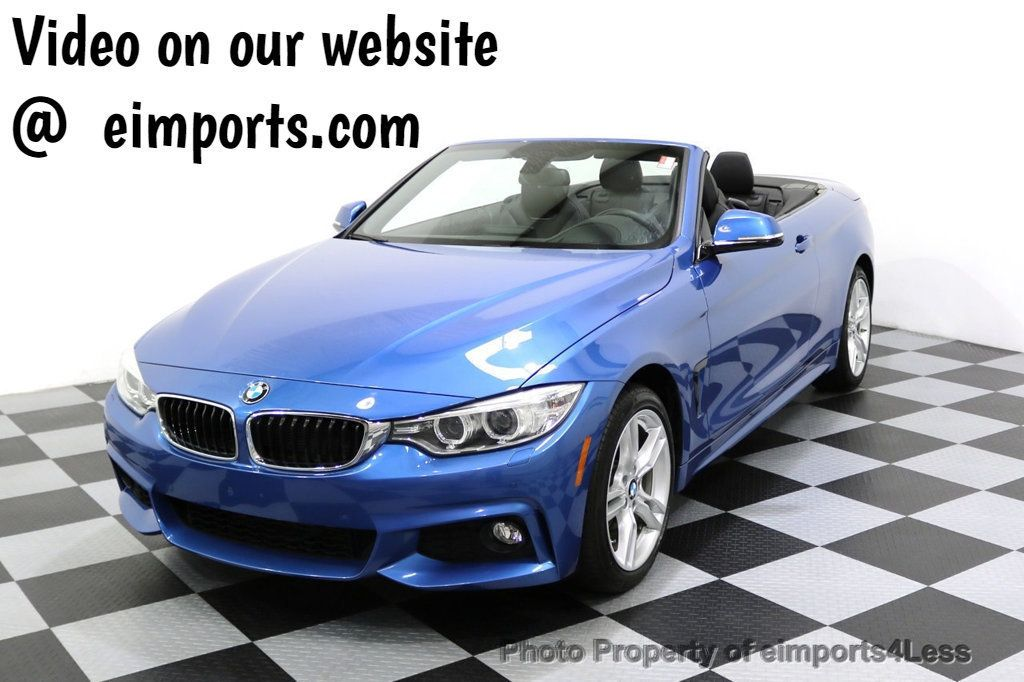 2015 BMW 4 Series CERTIFIED 428i xDRIVE AWD M Sport Package TECH CAM NAVI - 17696951 - 0
