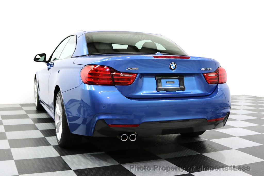 2015 BMW 4 Series CERTIFIED 428i xDRIVE AWD M Sport Package TECH CAM NAVI - 17696951 - 29