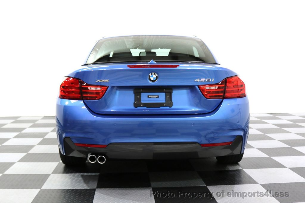 2015 BMW 4 Series CERTIFIED 428i xDRIVE AWD M Sport Package TECH CAM NAVI - 17696951 - 30