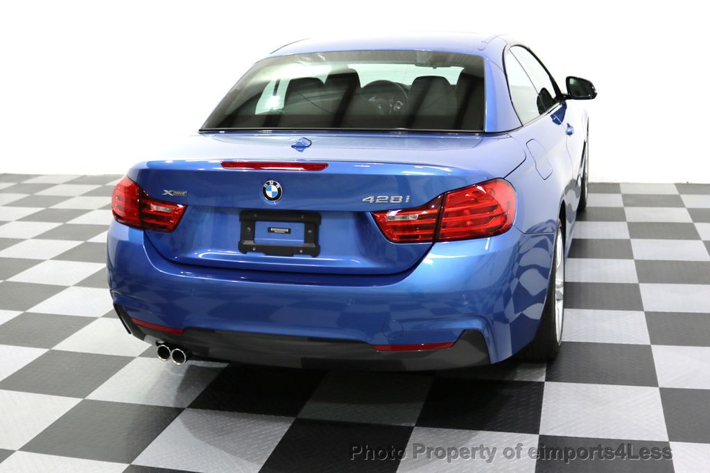 2015 BMW 4 Series CERTIFIED 428i xDRIVE AWD M Sport Package TECH CAM NAVI - 17696951 - 31