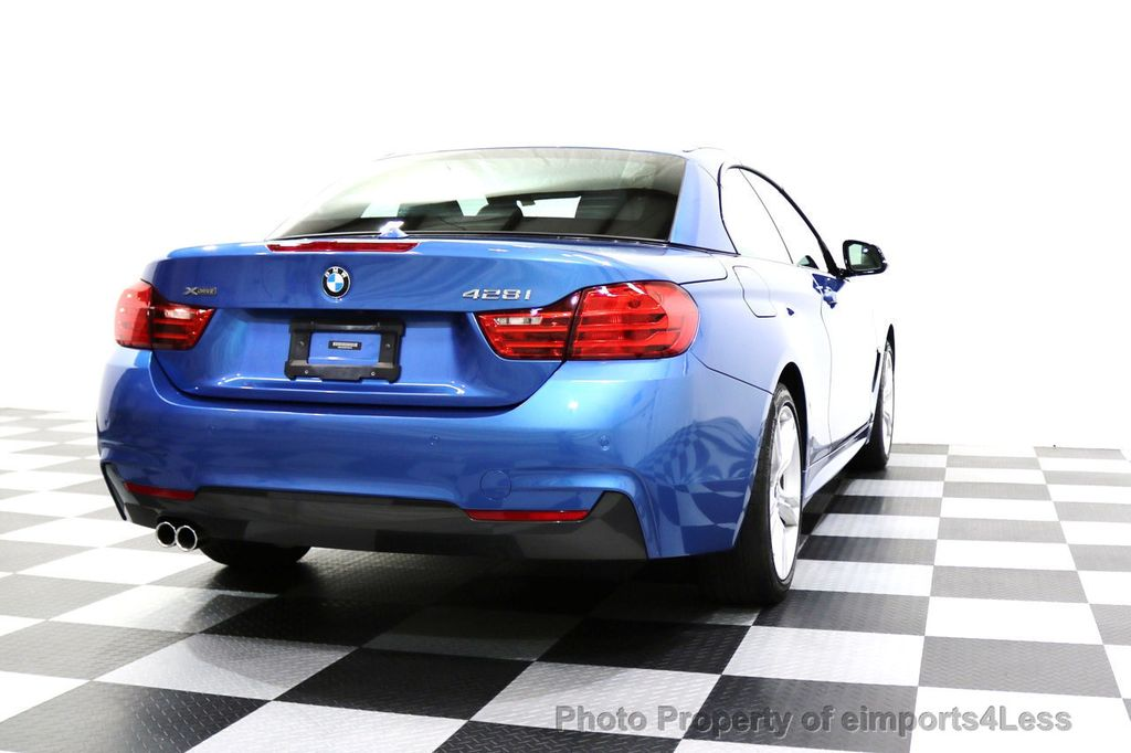 2015 BMW 4 Series CERTIFIED 428i xDRIVE AWD M Sport Package TECH CAM NAVI - 17696951 - 50