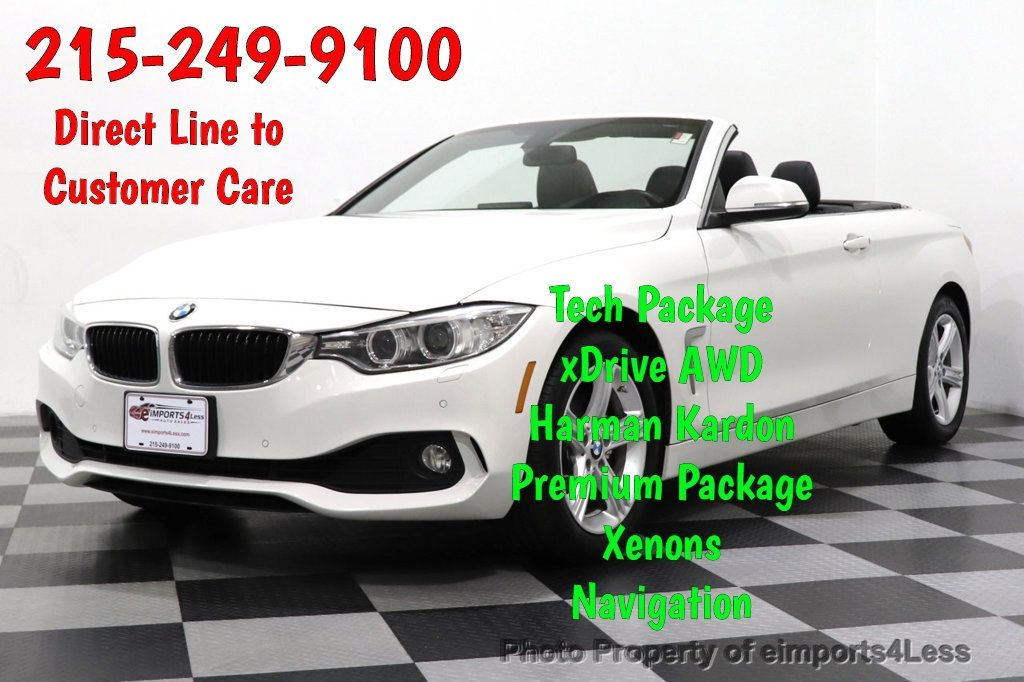 2015 BMW 4 Series CERTIFIED 428i xDrive AWD PREMIUM CAMERA NAVIGATION - 18467697 - 0