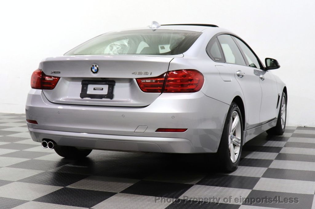 2015 BMW 4 Series CERTIFIED 428i xDrive GRAN COUPE AWD CAMERA NAVI - 18499016 - 30