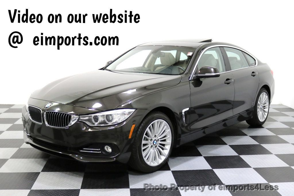 2015 BMW 4 Series CERTIFIED 428i xDrive Gran Coupe Luxury Line AWD CAMENAV - 17736551 - 0