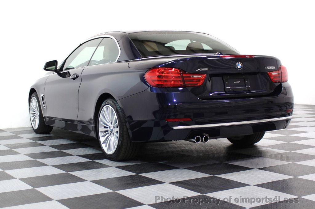 2015 BMW 4 Series CERTIFIED 428i xDRIVE Luxury Line AWD CAMERA NAVI - 17537670 - 16