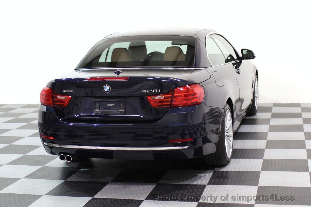 2015 BMW 4 Series CERTIFIED 428i xDRIVE Luxury Line AWD CAMERA NAVI - 17537670 - 31