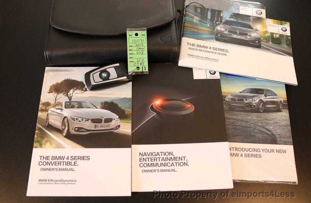 2015 BMW 4 Series CERTIFIED 428i xDRIVE Luxury Line AWD CAMERA NAVI - 17537670 - 37