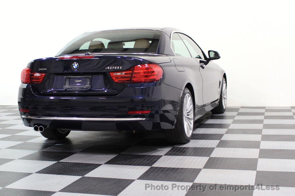 2015 BMW 4 Series CERTIFIED 428i xDRIVE Luxury Line AWD CAMERA NAVI - 17537670 - 44