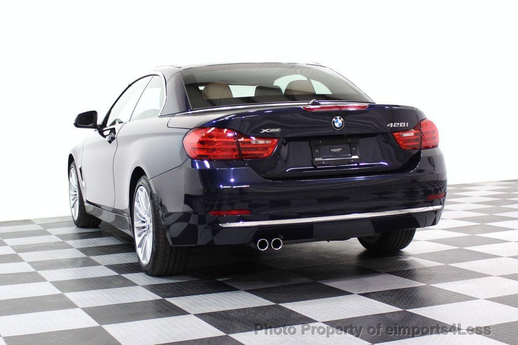 2015 BMW 4 Series CERTIFIED 428i xDRIVE Luxury Line AWD CAMERA NAVI - 17537670 - 46