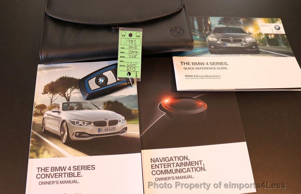 2015 BMW 4 Series CERTIFIED 428i xDRIVE M Sport AWD CAMERA NAVI - 17395747 - 36