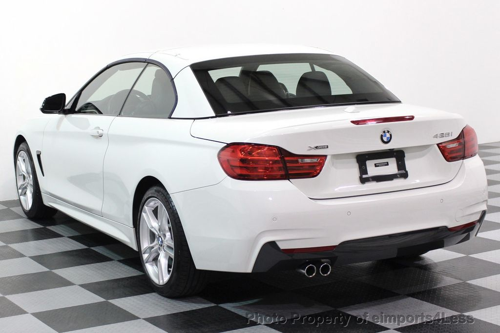 2015 BMW 4 Series CERTIFIED 428i xDRIVE M Sport AWD CAMERA NAVI - 17526650 - 30