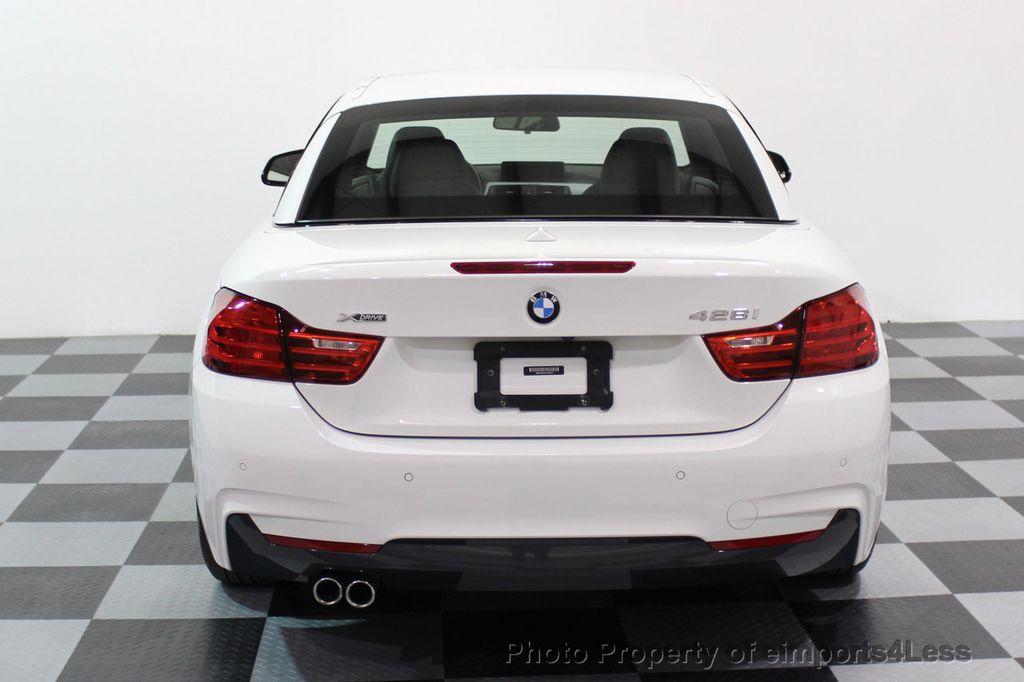 2015 BMW 4 Series CERTIFIED 428i xDRIVE M Sport AWD CAMERA NAVI - 17526650 - 31
