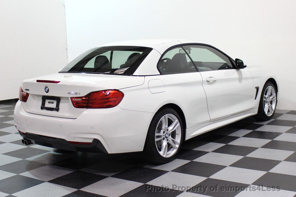 2015 BMW 4 Series CERTIFIED 428i xDRIVE M Sport AWD CAMERA NAVI - 17526650 - 32