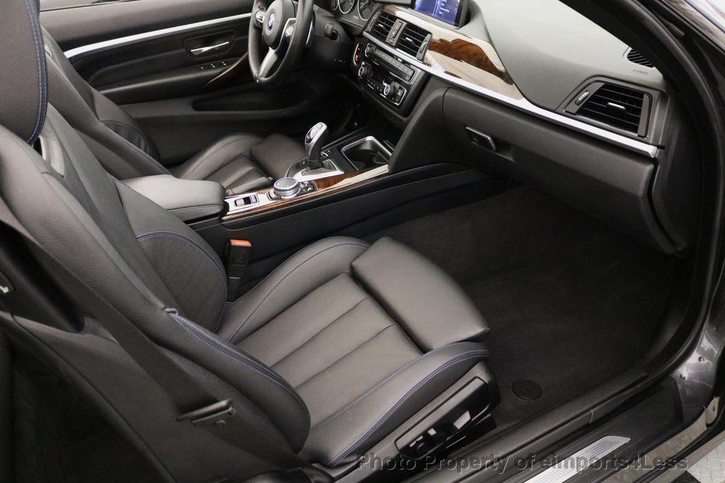 2015 BMW 4 Series CERTIFIED 428i xDRIVE M Sport Package AWD CAMERA NAVI - 17425255 - 39