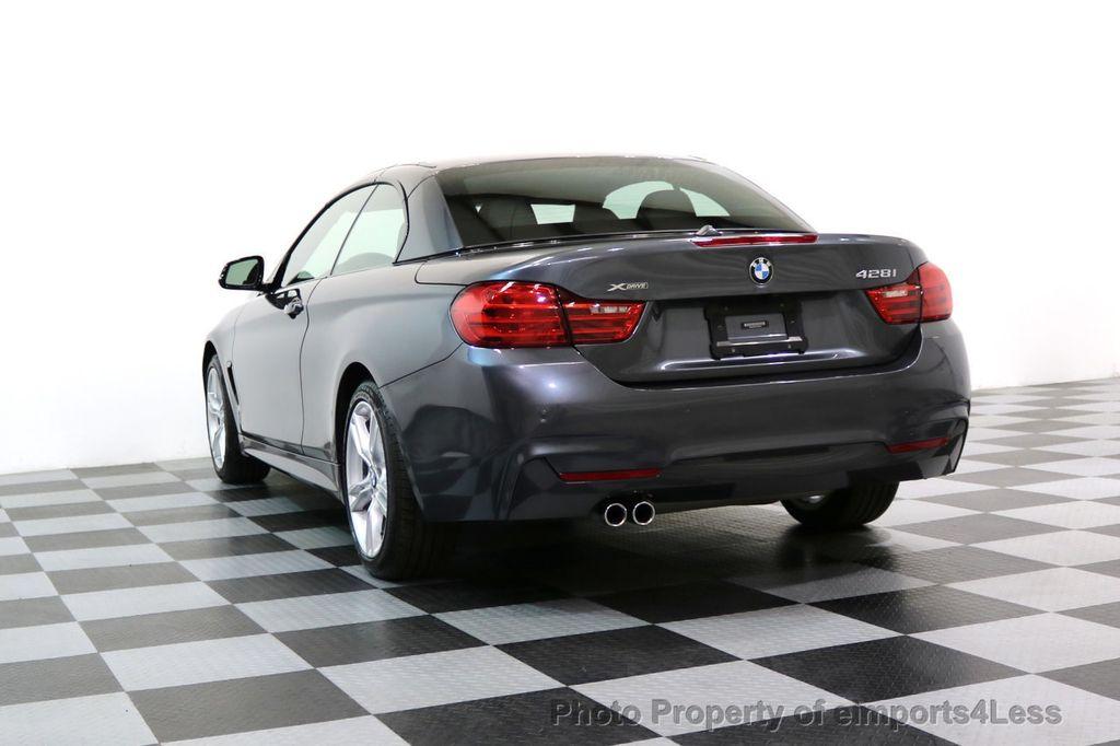 2015 BMW 4 Series CERTIFIED 428i xDRIVE M Sport Package AWD CAMERA NAVI - 17425255 - 48