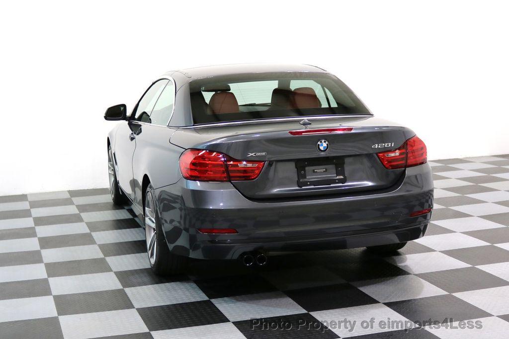 2015 BMW 4 Series CERTIFIED 428i xDRIVE Sport Line AWD CAMERA NAVI - 17581586 - 30
