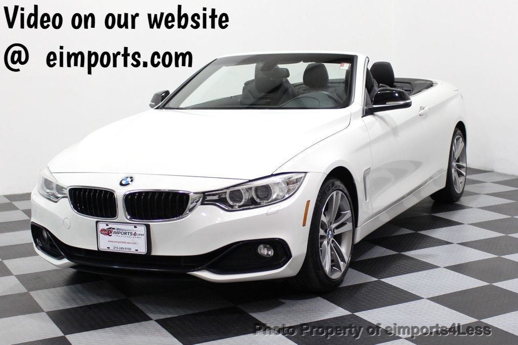 2015 BMW 4 Series CERTIFIED 428i xDRIVE Sport Line AWD NAVIGATION - 17515927 - 0